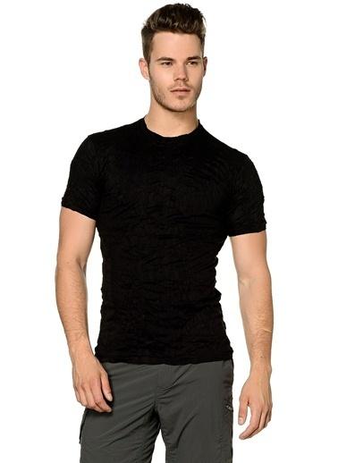 T-Box Slim Fit Tişört Siyah